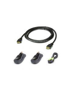 ATEN 2L-7D02UHX4 1.8M USB HDMI Veilige KVM Kabelpakket