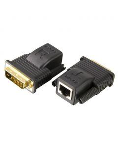 ATEN VE066 Mini Cat 5 DVI-extender (1080p bij 15 m/1080i bij 20 m)